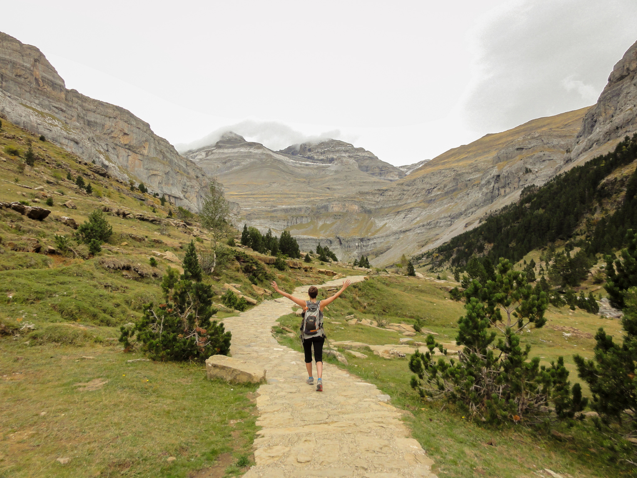 Karly hiking in Northern Spain